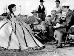 На съемках фильма «Унесенные ветром», 1939 год