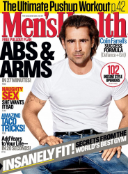 Колин Фаррелл для Men's Health US, сентябрь 2015