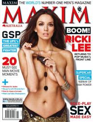 Рики-Ли Колтер в журнале Maxim