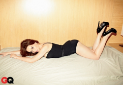 Эмилия Кларк для GQ, март 2013