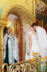 Венчание Дмитрия Дюжева и Татьяны Зайцевой