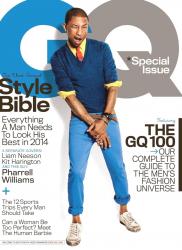 Фаррелл Уильямс в фотосессии Паолы Кадаки для журнала GQ, апрель 2014
