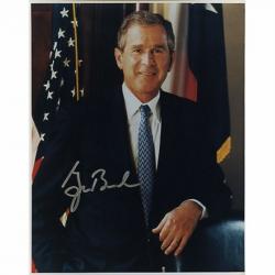 Автограф Джорджа Буша
