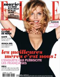 Ева Герцигова для Elle France