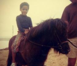 Ленни Кравиц в детстве