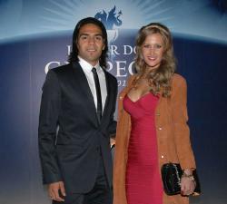 Радамель Фалькао и его жена