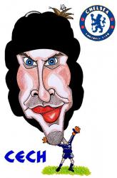 Карикатуры на Петра Чеха