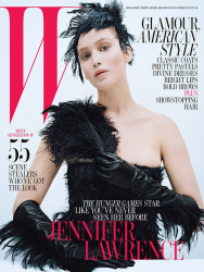 Дженнифер Лоуренс для журнала W