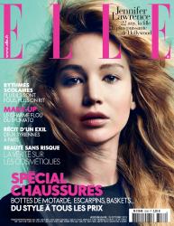 Дженнифер Лоуренс для Elle France, октябрь 2013