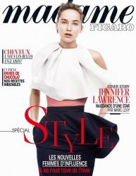 Дженнифер Лоуренс для специального выпуска MADAME FIGARO Magazine, ноябрь 2013
