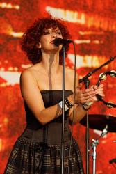 Хелена Юсефссон на сцене