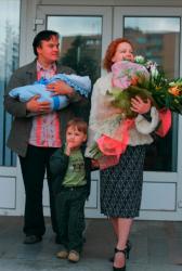 Семья Татьяны Абрамовой