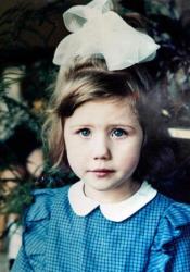 Анна Чапман в детстве