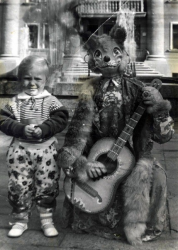 Яна Соломко в детстве