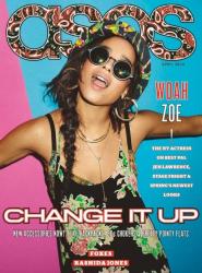 Зои Кравиц для ASOS Magazine, апрель 2014