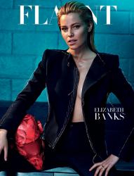 Элизабет Бэнкс для Flaunt, июнь 2015