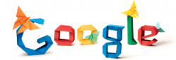 Акира Ёсидзава на праздничном логотипе Google