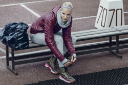 Дарья Клишина и Александр Овечкин в рекламной кампании Nike