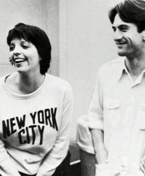 """Лайза Миннелли и Роберт Де Ниро на съемках фильма """"Нью-Йорк, Нью-Йорк"""", 1976 год"""