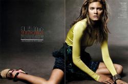 Констанс Яблонски в Vogue China