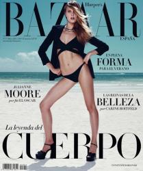 Констанс Яблонски для Harper's Bazaar Spain, май 2015
