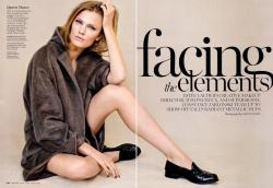 Констанс Яблонски для журнала Marie Claire USA, октябрь 2013