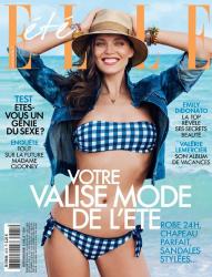 Эмили Ди Донато для Elle France, июль 2014