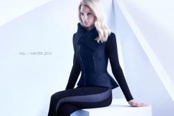 Джессика Стэм в фотосессии для рекламной кампании бренда ELIE TAHARI осень 2013 - зима 2014