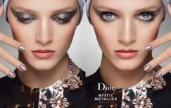 Дарья Строкоус в рекламной кампании DIOR BEAUTY F\W 13.14 AD