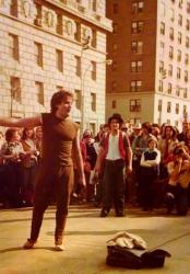 Уличное представление Робина Уильямса в Нью-Йорке, 1979 год
