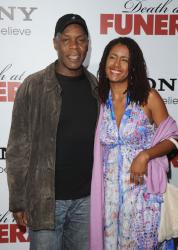 Дэнни Гловер с женой