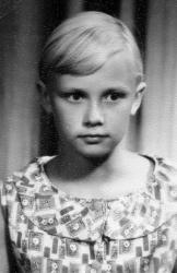 Анне Вески в детстве