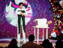 Елена Борщева на сцене