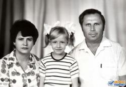 Елена Кравец в детстве