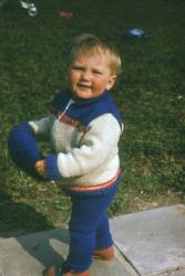 Дмитрий Шепелев в детстве