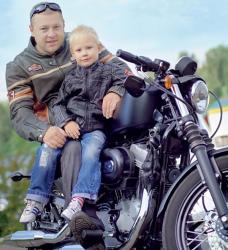 Александр Пикалов и его сын