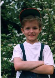 Алексей Матиас в детстве