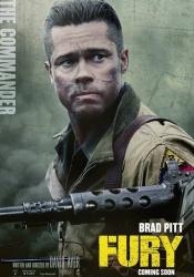 Характер-постеры фильма «Ярость»