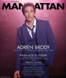 Эдриен Броуди для Manhattan, апрель 2014