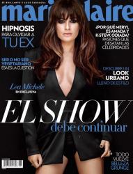 Лиа Мишель для Marie Claire Mexico, август 2013