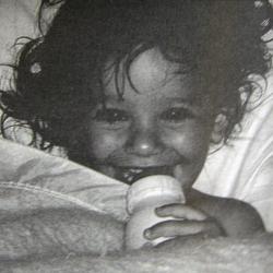 Лиа Мишель в детстве