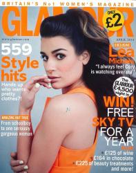 Лиа Мишель в фотосессии Пегги Сирота для журнала Glamour UK, апрель 2014