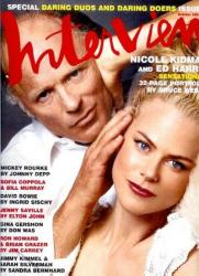 Эд Харрис и Николь Кидман в фотосессии Брюса Вебера для журнала Interview (октябрь 2003)