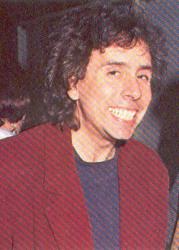 Тим Бертон в молодости