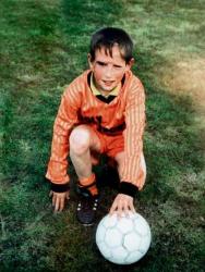 Франк Рибери в детстве