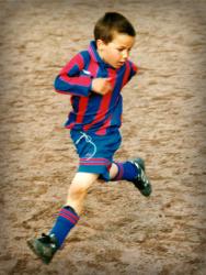 Марио Гетце в детстве
