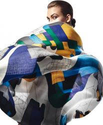 Карли Клосс в рекламной кампании Hermès