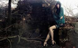 Карли Клосс в рекламной кампании Animale Inverno 2014