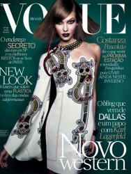 Карли Клосс для Vogue Brazil, июль 2014