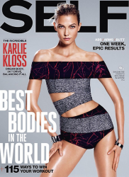 Карли Клосс для Self, август 2015